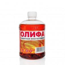 Олифа защитная влагостойкая  0,5л (пэт/т;20шт) Вершина СПб