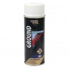 Грунт аэрозольный антикоррозийный INRAL GROUND 400мл, белый RAL9003