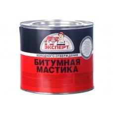 Мастика битумная  (2л/1,8кг;4шт) ЭКСПЕРТ