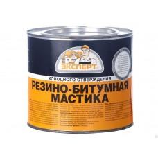Мастика резино-битумная  (2л/1,8кг;4шт) ЭКСПЕРТ