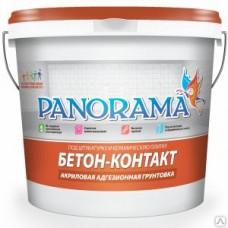 Грунтовка «Panorama» Бетон-Контакт адгезионная ( 2,5кг)
