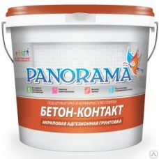 Грунтовка «Panorama» Бетон-Контакт адгезионная ( 7кг)