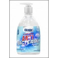 АНТИБАКТЕРИАЛЬНОЕ жидкое мыло 0,5л (16шт) CHISTOFOR