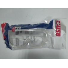 ОЧКИ защитные, закрытый тип, прямая вентиляция, прозрачный корпус/12207