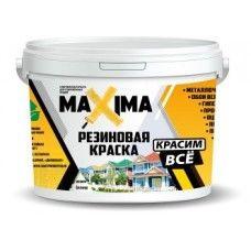 "Краска резиновая ""MAXIMA"" № 102 (перец) 2,5кг (4шт)"