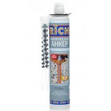 Анкер химический универсальный RICH 300мл (605г/5шт)