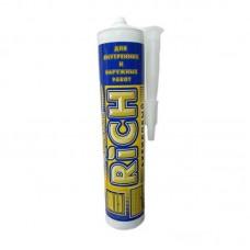 Герметик акриловый RICH 280мл (435г/24шт) белый