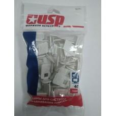 Зажим П-образный USP (40 шт)