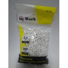 Крестики  для плитки inWork (2,0мм*200)