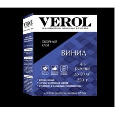 Клей обойный Verol виниловый (250гр;20шт) усиленный