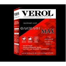 Клей обойный Verol флизелиновый Max (500 гр;12 шт) усиленный