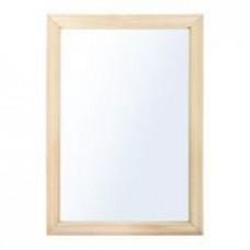 """Зеркало прямоугольное 40*60см, липа """"Банные штучки""""/4шт/32518"""