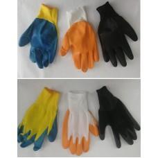 Перчатки полиэфирные размер 10, 37 гр(12шт)