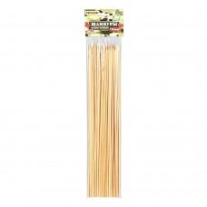 Шампуры бамбуковые 30х0,3 см 50 шт в упаковке/25шт/61046