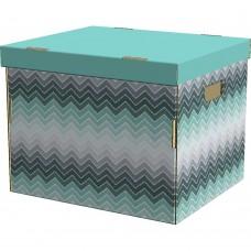 Коробка для хранения Аврора, картон 38,4*33,3*30,0см