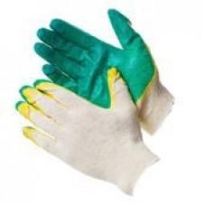 Перчатки2-й облив латекса желто-зеленые