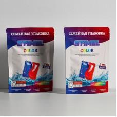 Капсулы для стирки STIMEL Color семейная упаковка 30шт/упак ДП (450гр;20шт)
